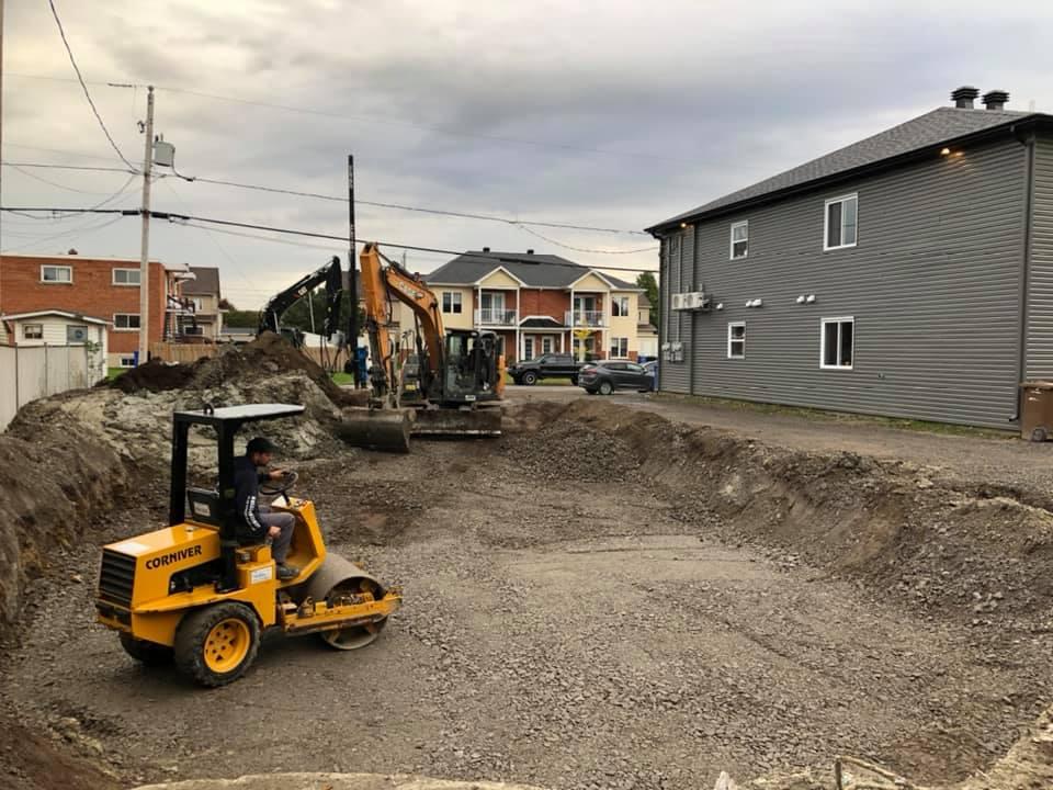 Entreprise d'excavation à Beauharnois-Salaberry