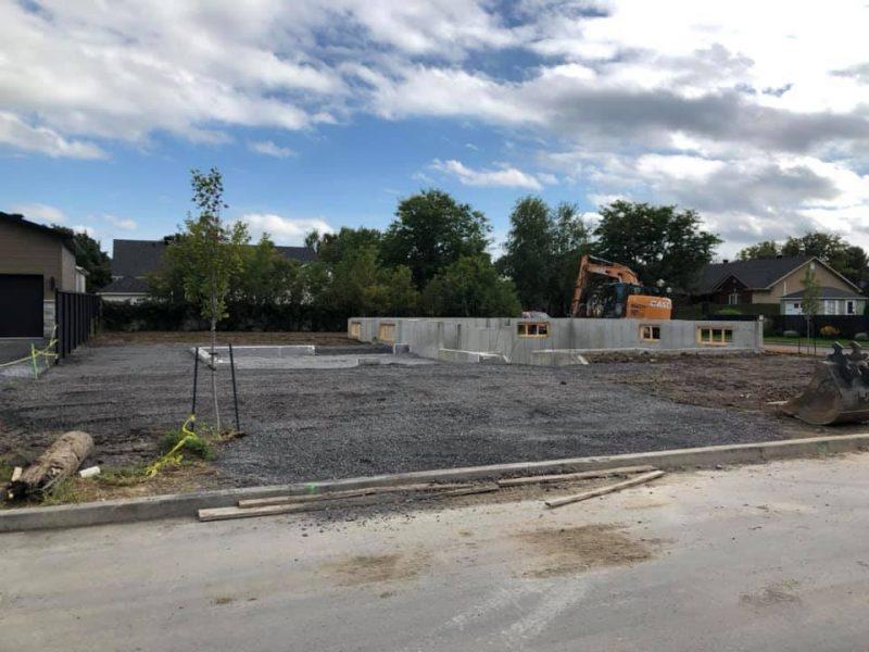 Service de terrassement et dump pour dépôt à terre